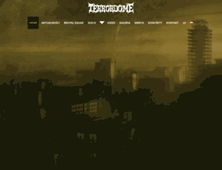 terrordome.net.pl screenshot