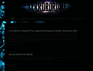 terrordrome-thegame.com screenshot