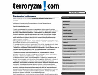 terroryzm.com screenshot
