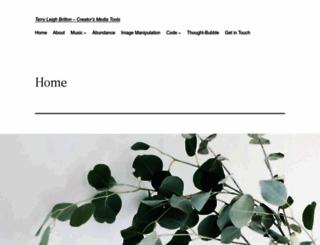 terrybritton.com screenshot