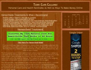 terrycarrcallaway.com screenshot
