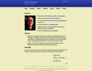 terrydunkle.com screenshot
