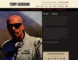 terrygoodkind.com screenshot