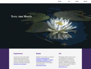 terrymorris.net screenshot