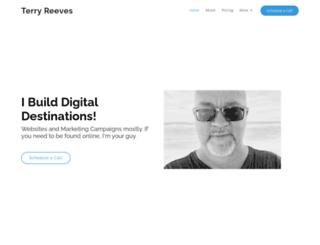 terryreeves.com screenshot