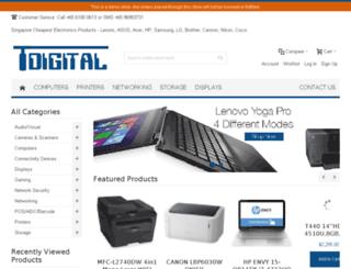 tertiarydigital.com screenshot
