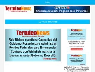 tertuleo.com screenshot