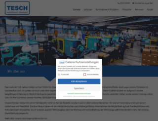 tesch.net screenshot