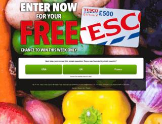 tesco6.myvoucher.site screenshot