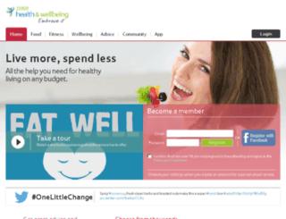 tescohealthychoices.com screenshot