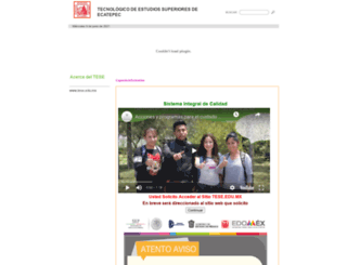 tese.edu.mx screenshot