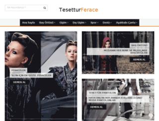 tesetturferace.net screenshot