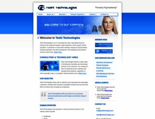 teshitechnologies.com screenshot