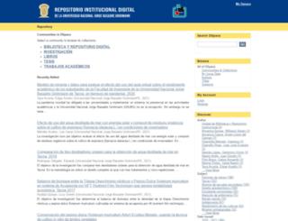 tesis.unjbg.edu.pe screenshot