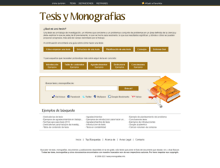 tesisymonografias.net screenshot