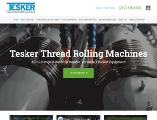tesker.com screenshot