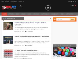 teslmalaysia.com screenshot