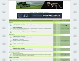 tesorosnaturales.foroactivo.com.es screenshot