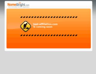 test-affiliation.com screenshot
