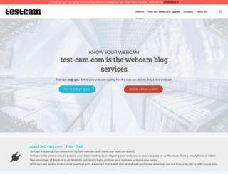 test-cam.com screenshot