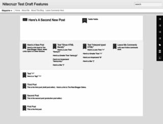 test-draft.nitecruzr.net screenshot