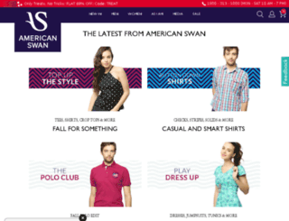 test.americanswan.com screenshot