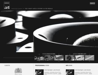 test.atcloudspeakers.co.uk screenshot