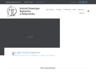test.baptysci.bialystok.pl screenshot