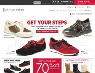 test.berenshoes.com screenshot