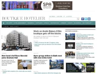 test.boutiquehotelier.com screenshot