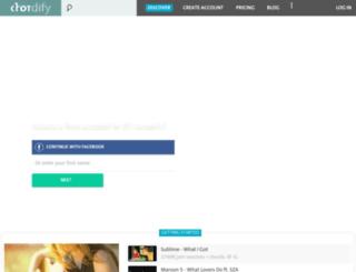 test.chordify.net screenshot