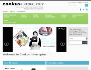 test.cookusinterruptus.com screenshot
