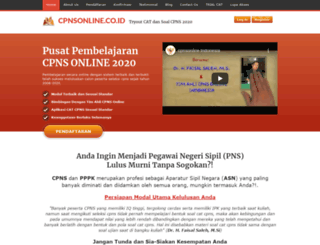 test.cpnsonline.com screenshot