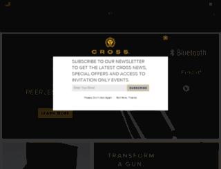 test.cross.com screenshot