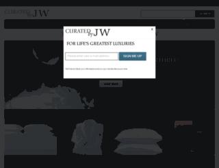 test.curatedbyjw.com screenshot