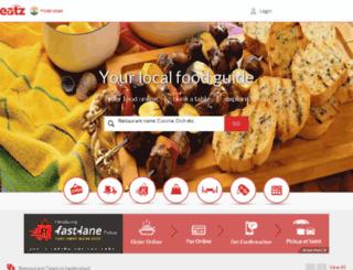test.eatz.com screenshot