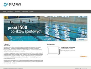 test.emsg.pl screenshot