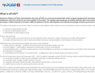 test.epuap.gov.pl screenshot