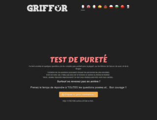 test.griffor.com screenshot