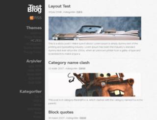 test.hakkiceylan.com screenshot