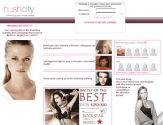 test.hushcity.com screenshot