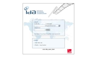 test.ida-net.org screenshot