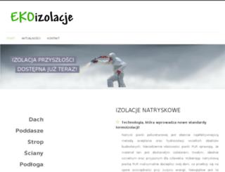 test.izolacjenatryskowe.rzeszow.pl screenshot