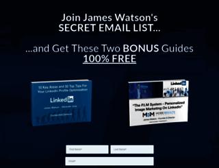 test.james-watson.com screenshot