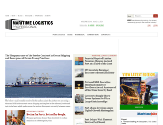 test.maritimeprofessional.com screenshot