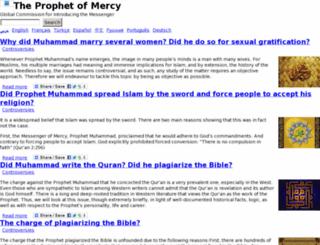 test.mercyprophet.com screenshot