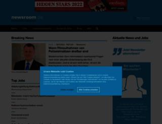 test.newsroom.de screenshot