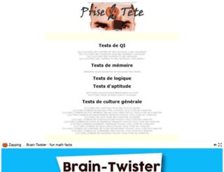 test.prise2tete.fr screenshot