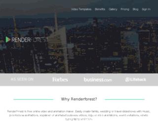 test.renderforest.com screenshot