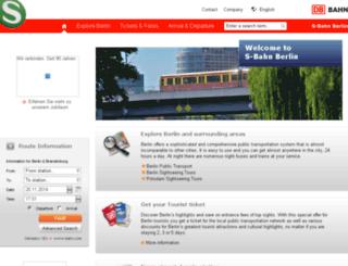 test.s-bahn-berlin.de screenshot